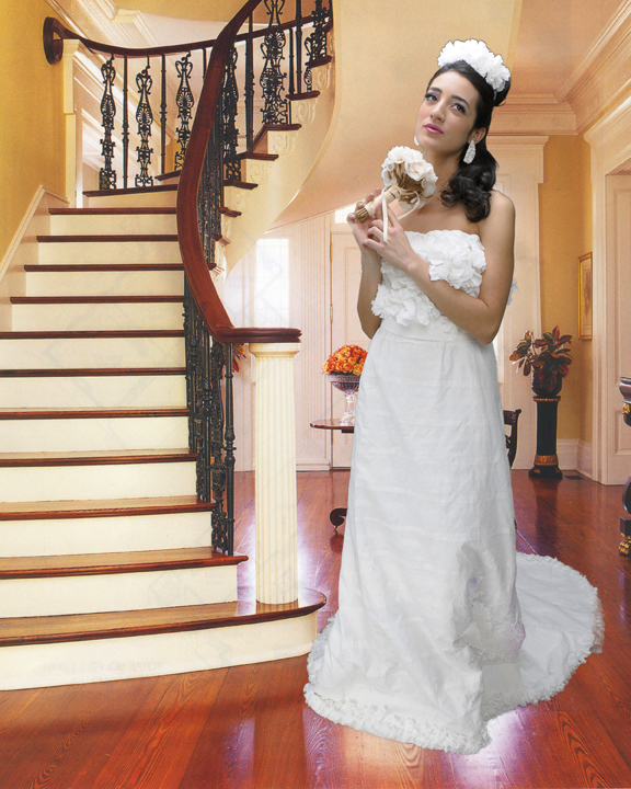The Charmin Tissue Wedding Gown