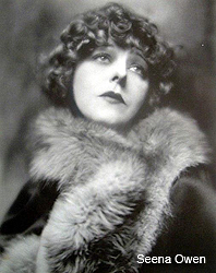 One of the first actresses to wear false eyelashes.