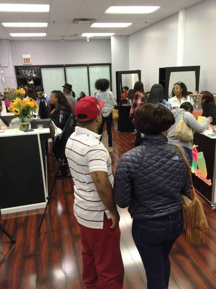 Guests attend Grand Opening Celebration