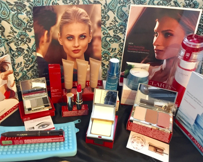 Getting Flawless Skin with Clarins