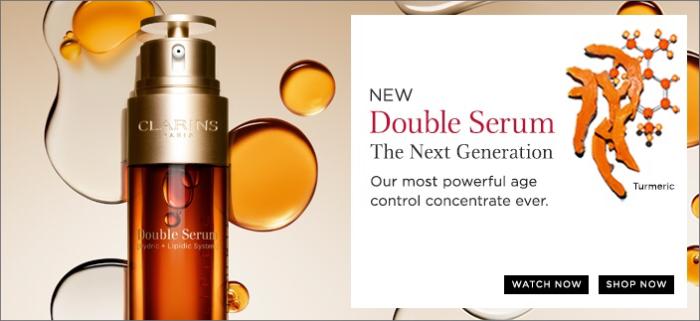 Clarins Next Generation Double Serum isHere!